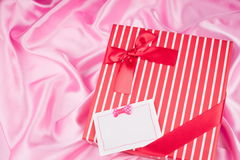 Nice present and best wish Royalty Free Stock Photos