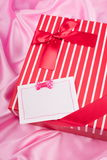 Nice present and best wish Stock Image