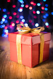 the nice present Stock Images