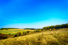 Nice,pretty landscape in autumn. Stock Photo