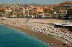 Nice promenade. Promenade in Nice France in summer Stock Photo