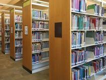 A nice  public library interior Stock Photos