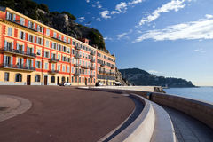 Nice: Quai Rauba Capeu Royalty Free Stock Photos