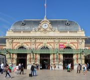 Nice railway Station, Provence, Cote d`azur, France Stock Image