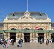 Nice railway Station, Provence, Cote d`azur, France stock image