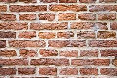 Nice red bricks background. Red bricks background with white concrete stock photo