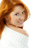 Nice redhead Stock Images
