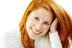Nice redhead Royalty Free Stock Images