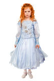 Nice redhead little girl Royalty Free Stock Photos