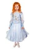 Nice redhead little girl Royalty Free Stock Photos