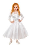 Nice redhead little girl Stock Image