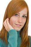 Nice redhead woman portrait Royalty Free Stock Photos