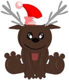Nice reindeer cartoon isolated Stock Photography