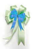 Nice ribbon bow for decorate gift box Stock Photography