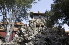 Backyard of Forbidden city, Beijing royalty free stock photos