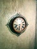 Nice Roman Numeral Clock Stock Photography