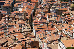 Nice roof tops Royalty Free Stock Photography