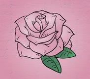 Nice rose illustration Royalty Free Stock Photo
