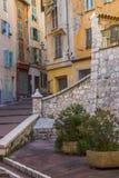 Nice - söder av Frankrike Arkivbild