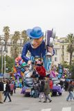 Nice's Carnival Royalty Free Stock Images