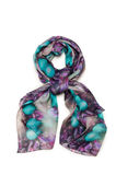 Nice scarf isolated on the white Stock Photography