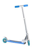 Nice scooter for kid isolated  Royalty Free Stock Photography