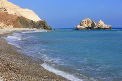 Nice sea shore landscape Stock Images
