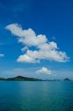 Nice sea view. With beautiful sky Stock Photo
