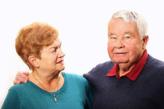Nice senior couple Stock Image