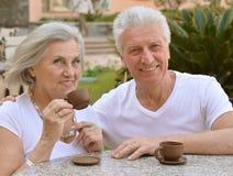 Nice senior couple Royalty Free Stock Photo