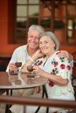 Nice senior couple Stock Photography