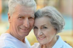 Nice senior couple Royalty Free Stock Photos