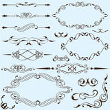 Nice set of elements royalty free illustration