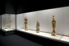 Nice Shanghai Museum interior Royalty Free Stock Images