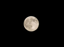 Nice shoot of the full moon Stock Photo