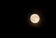 Nice shoot of the full moon Royalty Free Stock Photos