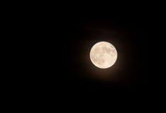 Nice shoot of the full moon Royalty Free Stock Photos