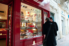 Nice shop Baillardran Bordeaux, France Stock Photography
