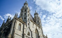 The vienna cathedral royalty free stock photo