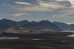 Nice shot from viewpoint of Lake Alexandrina. Royalty Free Stock Images