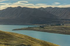 Nice shot from viewpoint of Lake Alexandrina. Royalty Free Stock Photos
