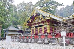 Nice Shrine in Nikko Royalty Free Stock Images