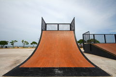 Nice skate and other sports park Stock Photo