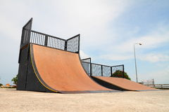 Nice skate and other sports park Stock Images