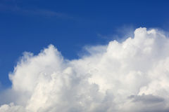 Nice sky with clouds Royalty Free Stock Photos