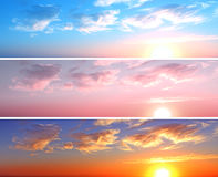 Nice sky Royalty Free Stock Photography