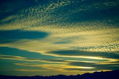 Nice Sky royalty free stock images
