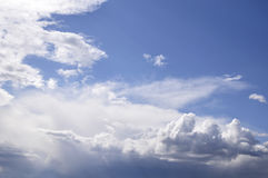 Nice skyscape. Stock Images
