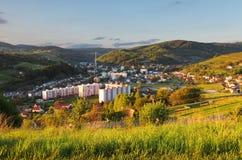 Nice Slovakia Village Hrinova Stock Image