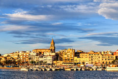 Nice small town in Spain Royalty Free Stock Photo